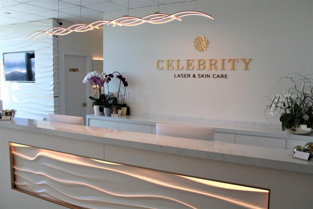 Celebrity Laser Reception