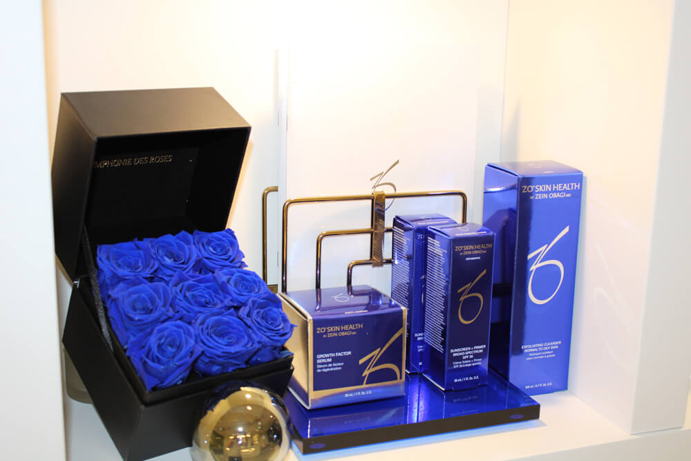 ZO Skin Health Products and Blue Roses
