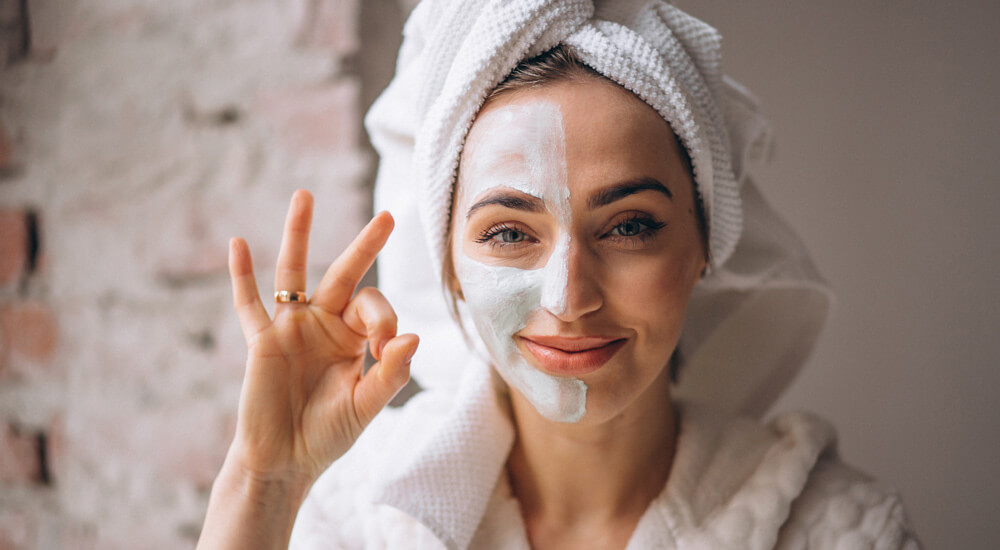 Diligent skin care regime for acne effects