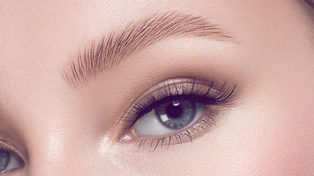 Microblading for sparse eyebrows